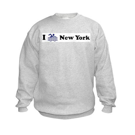Swim New York Kids Sweatshirt