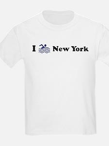 Swim New York Kids T-Shirt