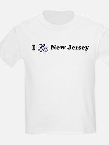 Swim New Jersey Kids T-Shirt