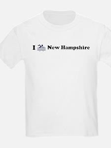 Swim New Hampshire Kids T-Shirt