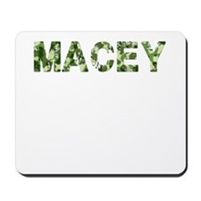 Macey, Vintage Camo, Mousepad