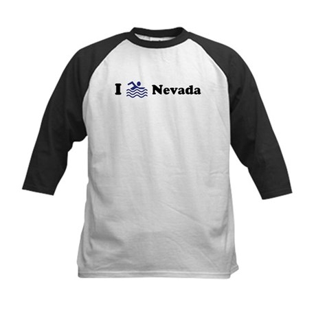 Swim Nevada Kids Baseball Jersey