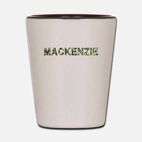 Mackenzie, Vintage Camo, Shot Glass