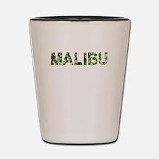 Malibu, Vintage Camo, Shot Glass