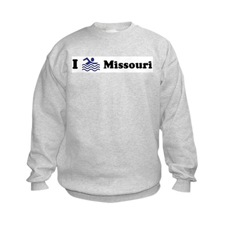 Swim Missouri Kids Sweatshirt