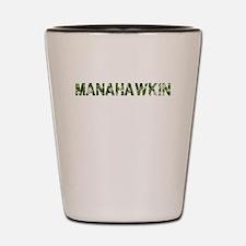 Manahawkin, Vintage Camo, Shot Glass