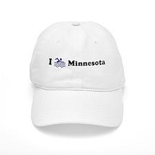 Swim Minnesota Baseball Cap