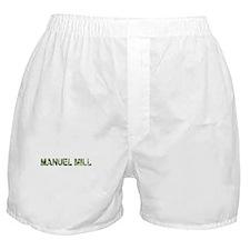 Manuel Mill, Vintage Camo, Boxer Shorts