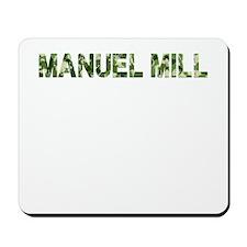 Manuel Mill, Vintage Camo, Mousepad