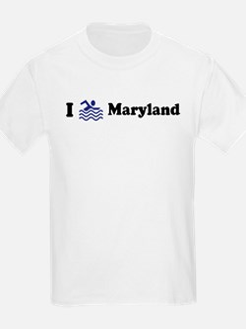 Swim Maryland Kids T-Shirt