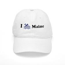 Swim Maine Baseball Cap
