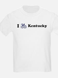 Swim Kentucky Kids T-Shirt