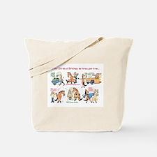 12 Days Tote Bag