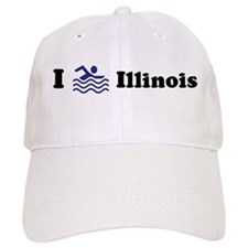 Swim Illinois Baseball Cap