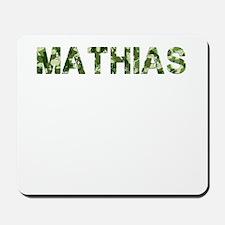 Mathias, Vintage Camo, Mousepad