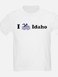 Swim Idaho Kids T-Shirt
