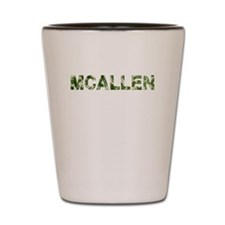 Mcallen, Vintage Camo, Shot Glass