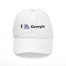 Swim Georgia Baseball Cap