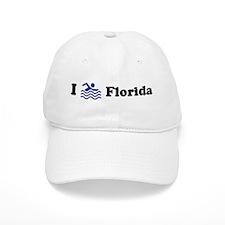 Swim Florida Baseball Cap