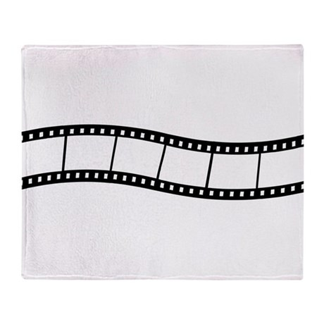 Film Wave 1 Throw Blanket