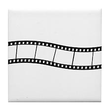 Film Wave 1 Tile Coaster