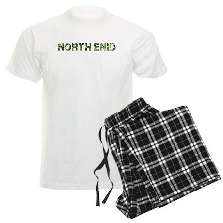 North Enid, Vintage Camo, Men's Light Pajamas