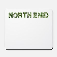 North Enid, Vintage Camo, Mousepad