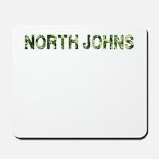 North Johns, Vintage Camo, Mousepad