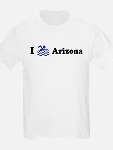 Swim Arizona Kids T-Shirt