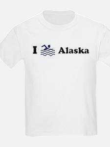Swim Alaska Kids T-Shirt