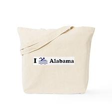 Swim Alabama Tote Bag