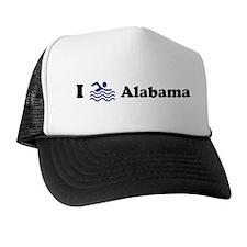 Swim Alabama Trucker Hat