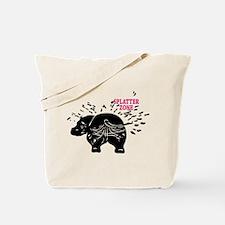 Splatter Zone Tote Bag