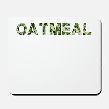 Oatmeal, Vintage Camo, Mousepad