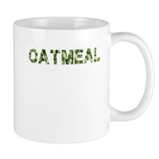 Oatmeal, Vintage Camo, Mug