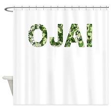 Ojai, Vintage Camo, Shower Curtain