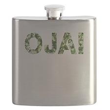 Ojai, Vintage Camo, Flask