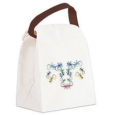 Echsen Canvas Lunch Bag