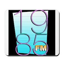 1985FM Black Icon Logo Mousepad