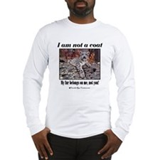 Paws Off Long Sleeve T-Shirt