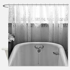 Vintage Bathtub Shower Curtains Vintage Bathtub Fabric