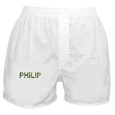 Philip, Vintage Camo, Boxer Shorts