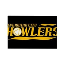 Everwind City Howlers Rectangle Magnet