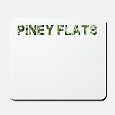 Piney Flats, Vintage Camo, Mousepad