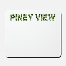 Piney View, Vintage Camo, Mousepad