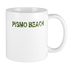 Pismo Beach, Vintage Camo, Mug