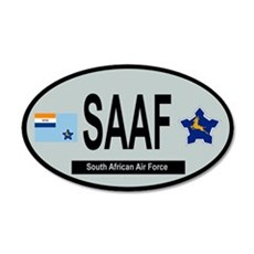Oval - South African Air Force 1958-1981 Wall Decal