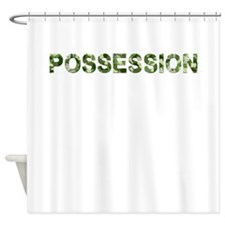 Possession, Vintage Camo, Shower Curtain