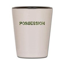 Possession, Vintage Camo, Shot Glass