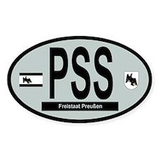 Car Code Free_State_Prussia_1918-1935-47 Decal